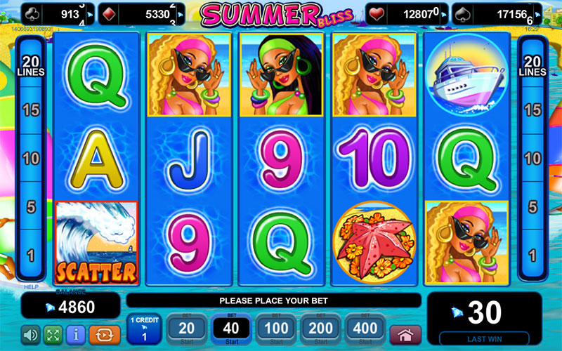 Slot Games for the summer: